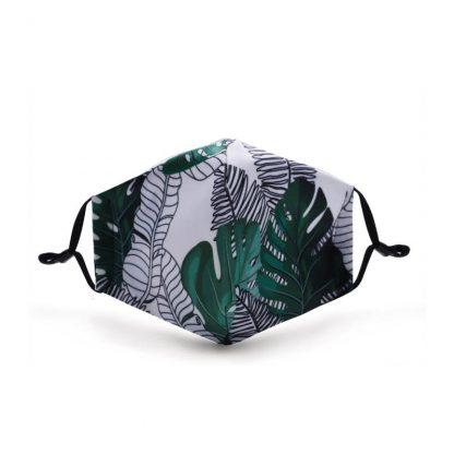 Mondkapje Groen Leaves