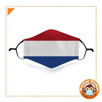 Mondkapje Nederlandse vlag