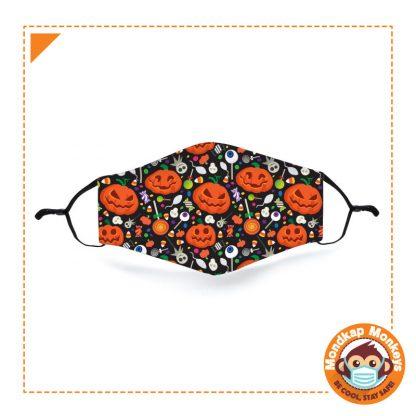 Halloween Pumpkin Mondkapje